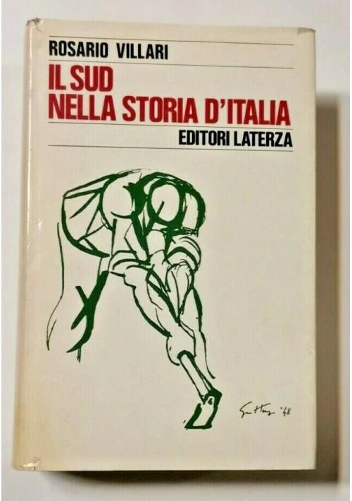 IL SUD NELLA STORIA D'ITALIA di Rosario Villari 1978 Laterza libro meridionale