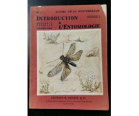 INTRODUCTION A L'ENTOMOLOGIE volume I di R Jeannel. Edition Boubee 1945 Anatomie