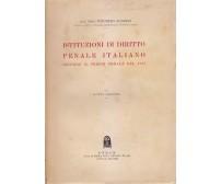 ISTITUZIONI DI DIRITTO PENALE ITALIANO codice 1930 Vincenzo Manzini 1935 CEDAM *