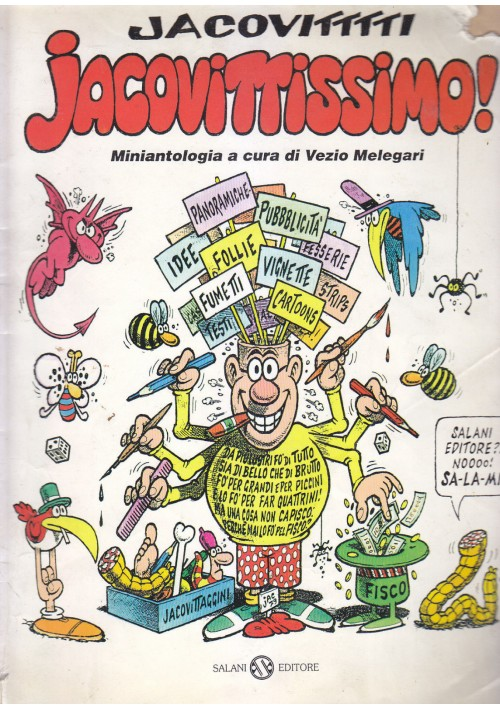 JACOVITTISSIMO miniantologia a cura di Vezio Melegari 1979 Salani Editore