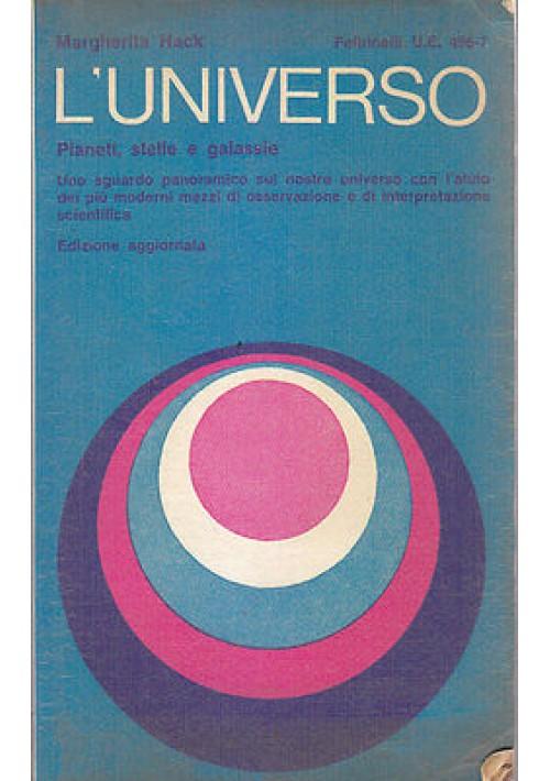 L UNIVERSO di Margherita Hack 1967 Feltrinelli Editore