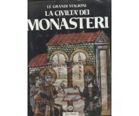 LA CIVILTà DEI MONASTERI Oursel Moulin Gregoire 1985 Jaca book *