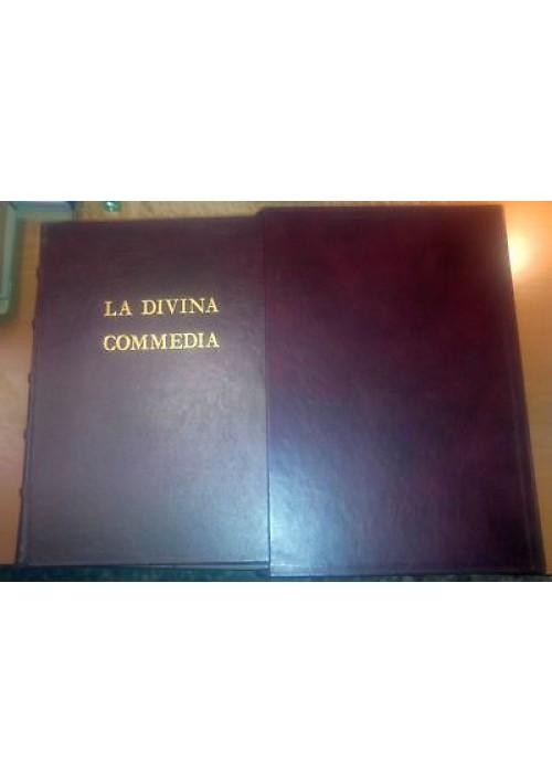 LA DIVINA COMMEDIA Dante Alighieri 1990 TREC EDIZIONI PREGIATE Treccani Dorè