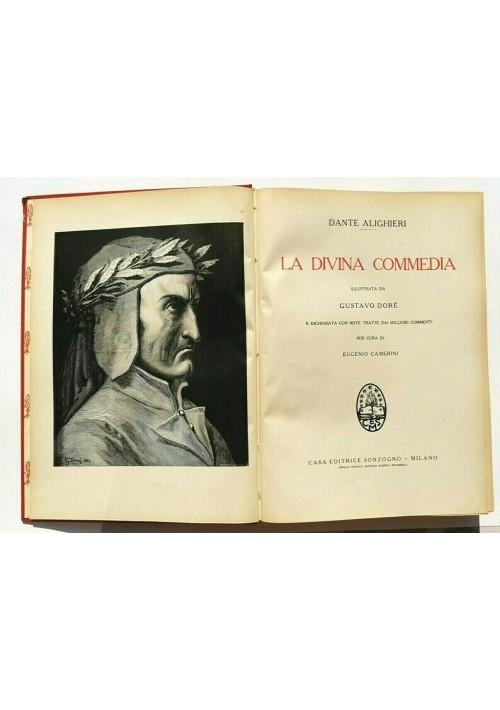 LA DIVINA COMMEDIA di Dante Alighieri illustrata da Gustavo Dorè 1956