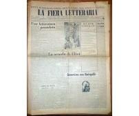 LA FIERA LETTERARIA anno III n. 36 28 novembre 1948 Vigorelli Borlenghi Comisso