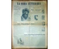 LA FIERA LETTERARIA anno VI n 42 19 ottobre 1952 Cardarelli Bargellini Munari