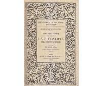 LA FILOSOFIA DEL CRISTIANESIMO 2 VOLUMI Guido De Ruggiero 1934 Laterza