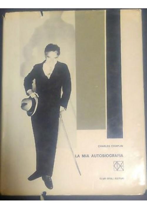 LA MIA AUTOBIOGRAFIA di Charles CHAPLIN 1964 Club degli editori
