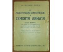 LA PROGETTAZIONE DI COSTRUZIONI IN CEMENTO ARMATO Giovanni Arosio 1952 Hoepli