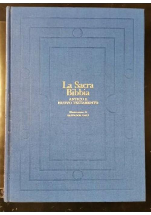 LA SACRA BIBBIA illustrata da Salvator Dalì 1973 Rizzoli libro testamento nuovo