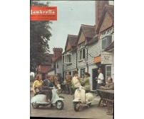 LAMBRETTA notiziario bimestrale n.5ottobre novembre 1958 rivista moto