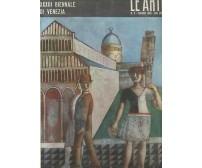 LE ARTI numero speciale dedicato XXXIII biennale Venezia giugno 1966