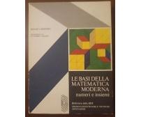 LE BASI DELLA MATEMATICA MODERNA NUMERI INSIEMI Helmut Seiffert 1976 Mondadori