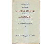 LE CALDAIE A VAPORE E I RELATIVI MECCANISMI AUSILIARI di Carlo Baulino 1949