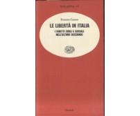 LE LIBERTA' IN ITALIA i diritti civili e sociali nell'ultimo decennio - Canosa *