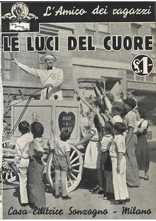 LE LUCI DEL CUORE foto tratte film MGM 1936 Sonzogno racconto cinematografico
