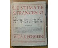 LE STIMMATE SAN FRANCESCO 1224 1924 numero commemorativo settimo centenario vita