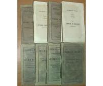 LE STORIE DI POLIBIO DA MEGALOPOLI 8 voll su 9 1855 Unione tipografico editrice