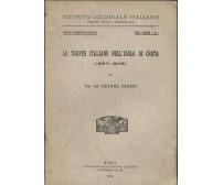 LE TRUPPE ITALIANE NELL ISOLA DI CRETA 1897 1906 Cesare Cesari 1918 Tip. unione