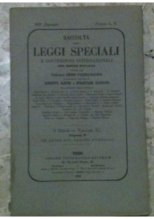 LEGGI SUL DEBITO PUBBLICO 2- raccolta delle leggi speciali regno d'Italia- 1881