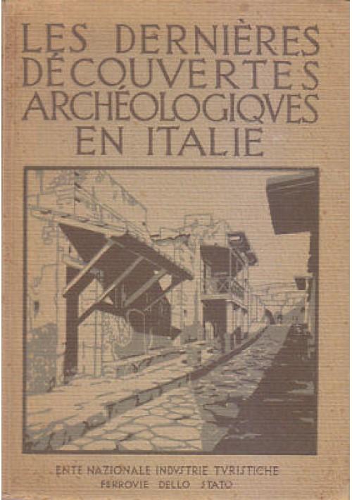 LES DERNIERES DECOUVERTES ARCHEOLOGIQUES EN ITALIE Ferrovie dello Stato ENIT