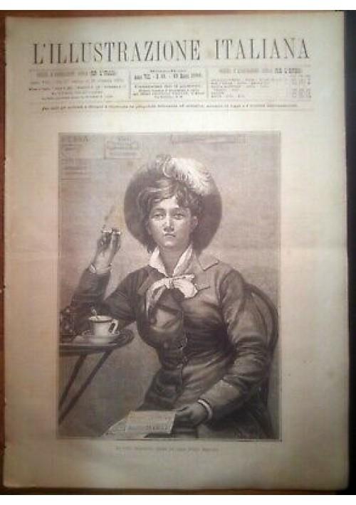 L'ILLUSTRAZIONE ITALIANA ANNO VIII n. 11 - 13 marzo 1881 ballo corte Quirinale