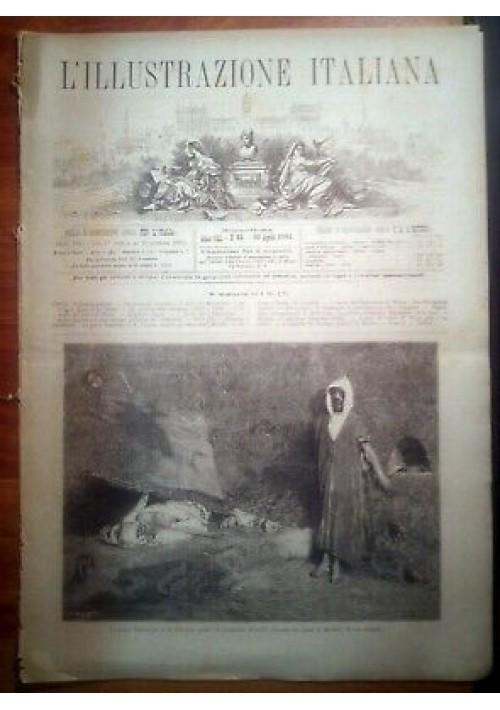 L'ILLUSTRAZIONE ITALIANA ANNO VIII n. 15 - 10 aprile 1881 Esposizione Melbourne