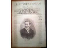 L'ILLUSTRAZIONE ITALIANA ANNO VIII n. 2 - 22 maggio 1881 Quintino Sella - Expo