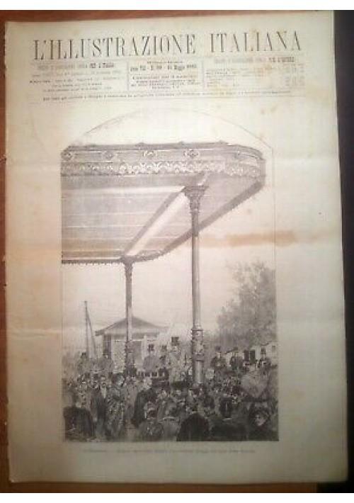 L'ILLUSTRAZIONE ITALIANA ANNO VIII n. 20 - 15 maggio 1881 Legnano Molfetta expo