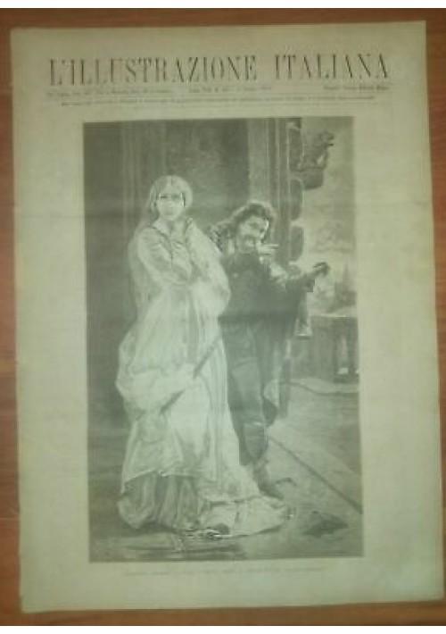 L'ILLUSTRAZIONE ITALIANA ANNO VIII n. 23 5 giugno 1881 Milano Sant'Ambrogio