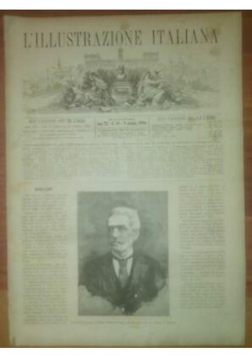 L'ILLUSTRAZIONE ITALIANA ANNO VIII n. 45 6 novembre 1881 castelli Lombardia