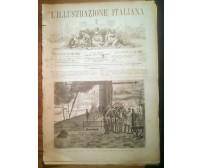 L'ILLUSTRAZIONE ITALIANA ANNO VIII n. 6 - 6 febbraio 1881 viaggio Savoia Sicilia