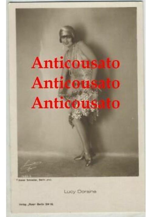 LUCY DORAINE CARTOLINA ORIGINALE ATTRICE anni '30  formato piccolo NON VIAGGIATA
