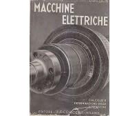 MACCHINE ELETTRICHE di M. Liwschitz -  Ulrico Hoepli Editore 1946