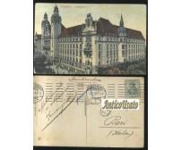 MAGDEBURG JUSTIZPALAST viaggiata 16/07/1910 ORIGINALE cartolina Germania