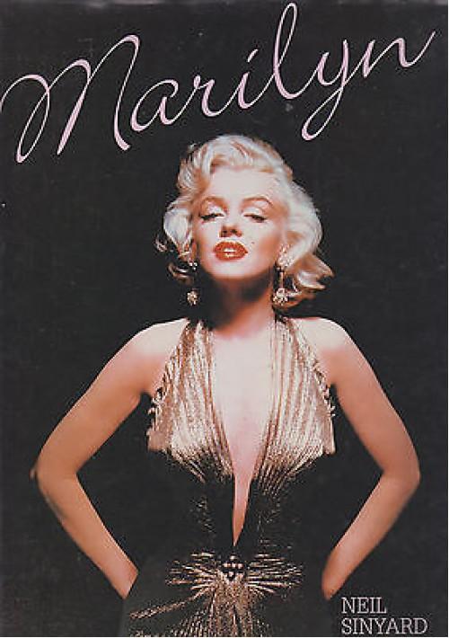MARILYN di Neil Sinyard - Magna Books 1989 ricchissimo di foto b/n e colori