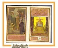 MESSALE QUOTIDIANO ROMANO latino italiano 1935 San Paolo libro chiesa religioso