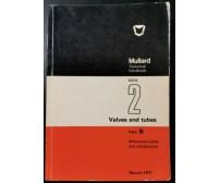 MICROWAVES TUBES AND COMPONENTS Mullard Technical Handbook 1971 Libro fisica