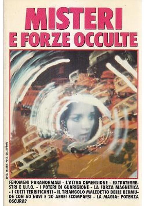 MISTERI E FORZE OCCULTE di Max King ( Gualberto Gianni Mario )  Athena 2001
