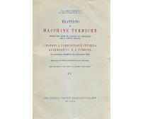 MOTORI A COMBUSTIONE INTERNA ALTERNATIVI E A TURBINA di Carlo Baulino 1949