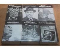 MUSSOLINI Renzo De Felice 6 volumi (su 8) rivoluzionario duce fascista Einaudi