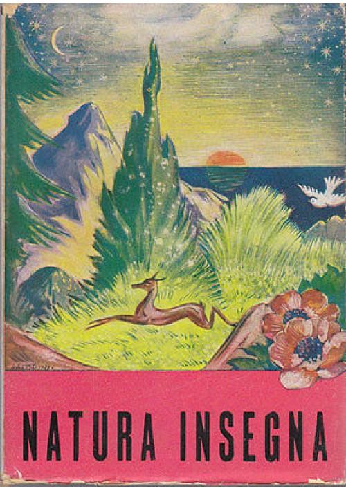 NATURA INSEGNA di Ferruccio Luscia 1944 Queriniana - religioso