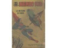NEMBO KID LA METEORA DI FUOCO numero 1 ORIGINALE SUPERMAN 1954 ALBI DEL FALCO