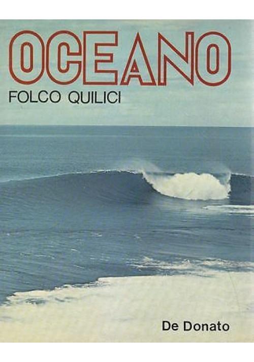 OCEANO di Folco Quilici - De Donato I edizione 1972