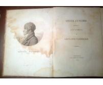ONORI FUNEBRI RENDUTI ALLA MEMORIA DI GIOVANNI PAISIELLO 1816 Angelo Trani