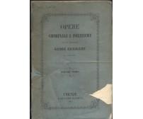 OPERE CRIMINALI E POLITICHE volume I Luigi Cremani 1848 Casoni Gaetano *