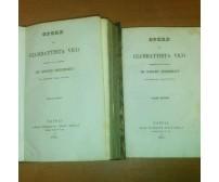 OPERE di Giambattista Vico 1834 Tipografia della Sibilla 2 volumi COMPLETO
