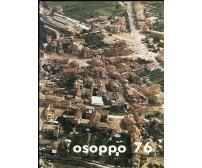 OSOPPO 76 - libro + carta geografica terremoto Friuli Pro Loco