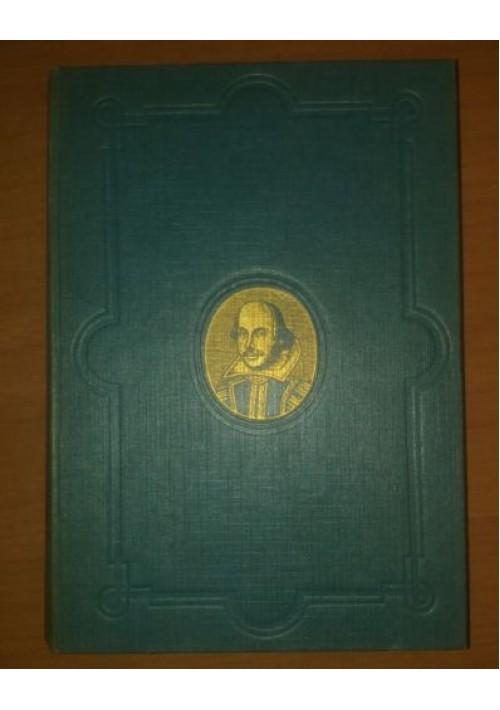 Opere di William Shakespeare 1953 Mondadori Otello Amleto Romeo e Giulietta