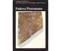 PADOVA PREROMANA catalogo della mostra 1976 Soprintendenza  Archeologica